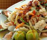 Seafood Pancit Canton (해산물 볶음 면)